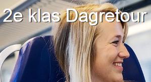 Dagretour 2e klas inclusief warme drank + snack bij Bakker Bart voor €18 @ Spoordeelwinkel