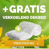 GRATIS verkoelend dekbed bij aankoop dekbedovertrek (va €17,95) @ Dekbed Discounter