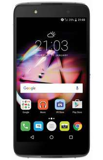Alcatel IDOL 4 Plus 6055K Black + VR Bril voor 149 @ Belsimpel