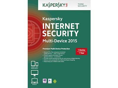 Kaspersky Lab Internet Security - Multi Device 2015 voor €0 (afhalen) @ Paradigit