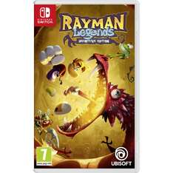 Nintendo Switch Mario + Rabbids en Rayman Legends