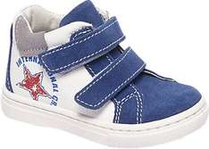 Suède klittenband kids sneakers -75%: €8,70 @ Van Haren