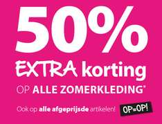 Alle sale 50% (extra) korting @ terStal