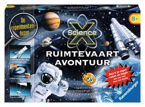 [PRIJSFOUT?] Ravensburger Science X Ruimtevaart avontuur voor €2,46 @ Dodax