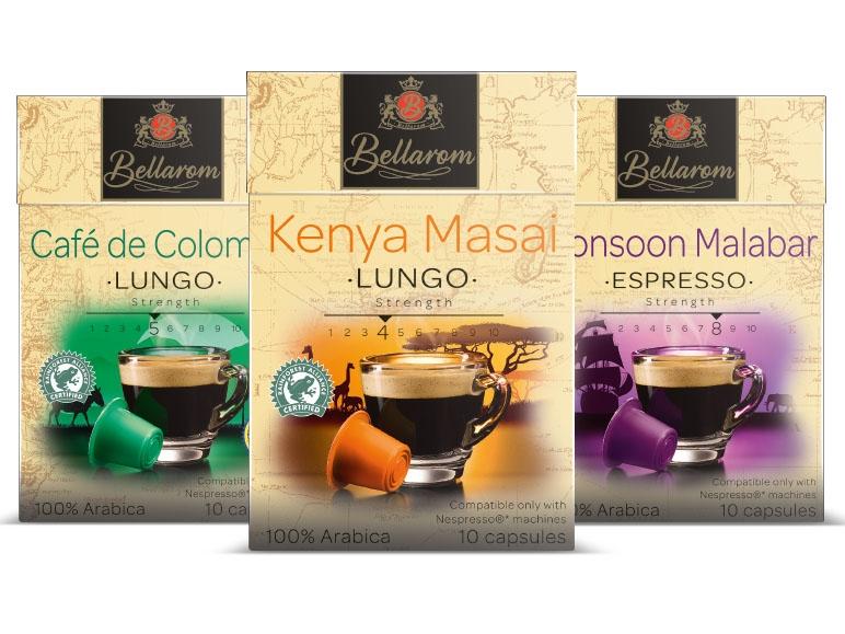 Bellarom Nespresso Koffiecups voor €1,59 @ Lidl