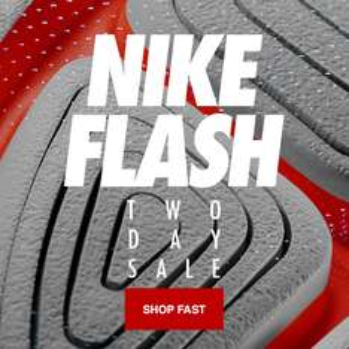 Flash SALE - tot 50% korting @ Nike