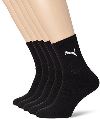 5 paar PUMA Unisex Sport sokken voor €6,13 @ Amazon.de