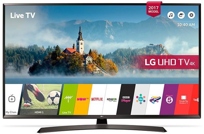 LG 55UJ635V 4K UHD TV voor €795 @ Hofma