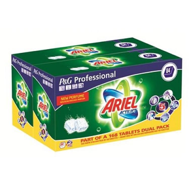 Ariel Actilift Tabs Wasmiddel Regular (168 tabs) voor €23,50 @ Drogisterij.net
