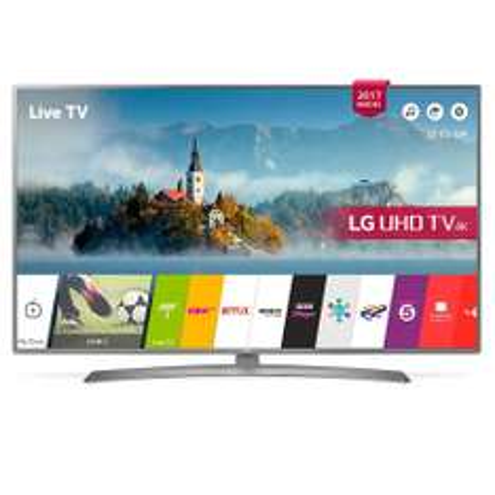 LG 43UJ670V 4K Ultra HD Smart TV voor €599 @ Hificorner