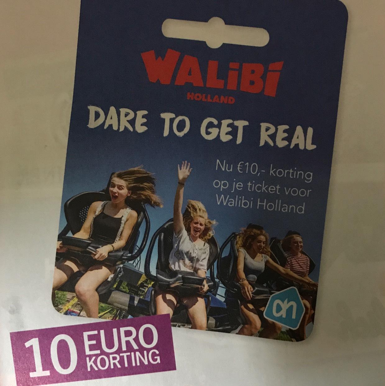 Walibi ticket voor €25,50 @ AH