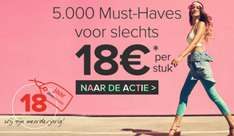 Actie: 5.000 items voor €18 p.s. @ Dress for Less