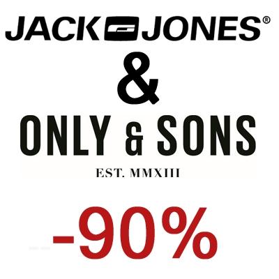 Donderdag 10-08 van 6-9 uur: Jack & Jones + Only & Sons met 90% korting @ Maison Lab