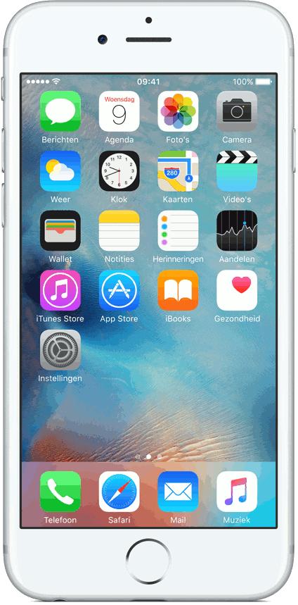iPhone 6S 32 GB voor € 480 (of  iPhone SE 32 GB voor € 192) als je een abo neemt of verlengt @ Vodafone