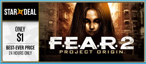 F.E.A.R. 2: Project Origin Steam Key voor een eurotje @ Bundlestars