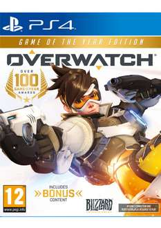 Overwatch Game of the Year Edition (PS4/ONE) voor €35,65 @ Simply Games