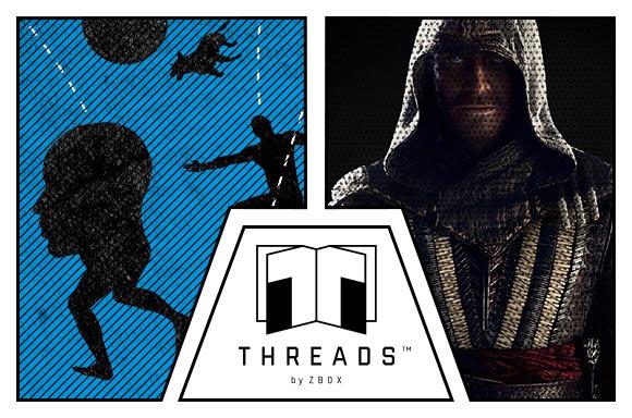 'Threads' 1+1 gratis (t-shirt met boek/novel) @ Zavvi