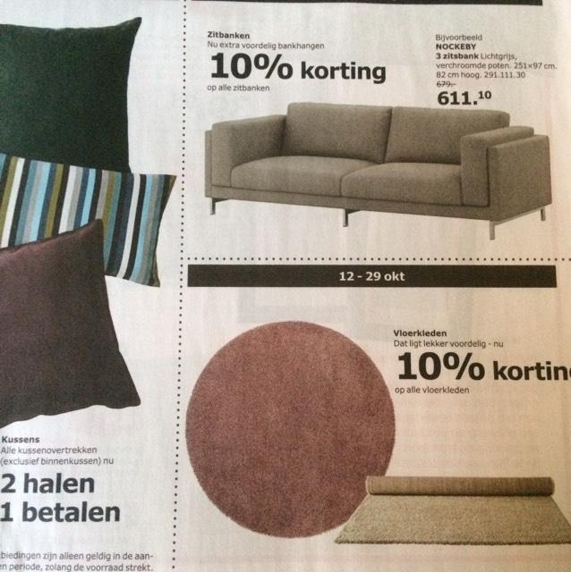 6 aanbiedingen van Ikea diverse data