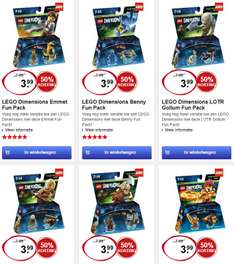 Diverse LEGO Dimensions Fun Packs €3,99 @ Intertoys