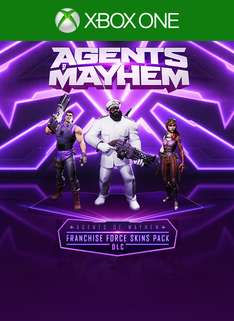 Gratis Agents of Mayhem Franchise Force Skins Pack DLC (Xbox One/PS4/PC)