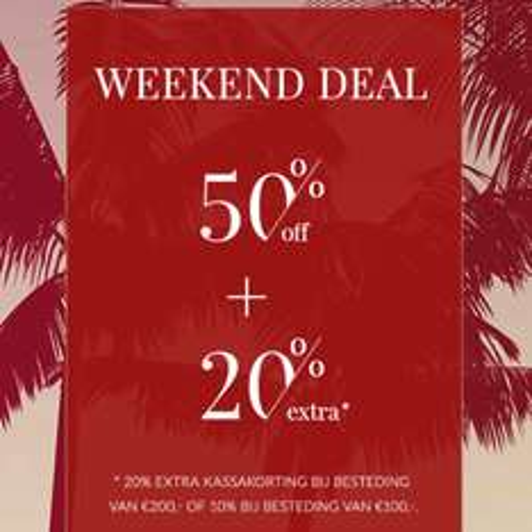Final sale + 20% kassa korting @ Mg Gregor