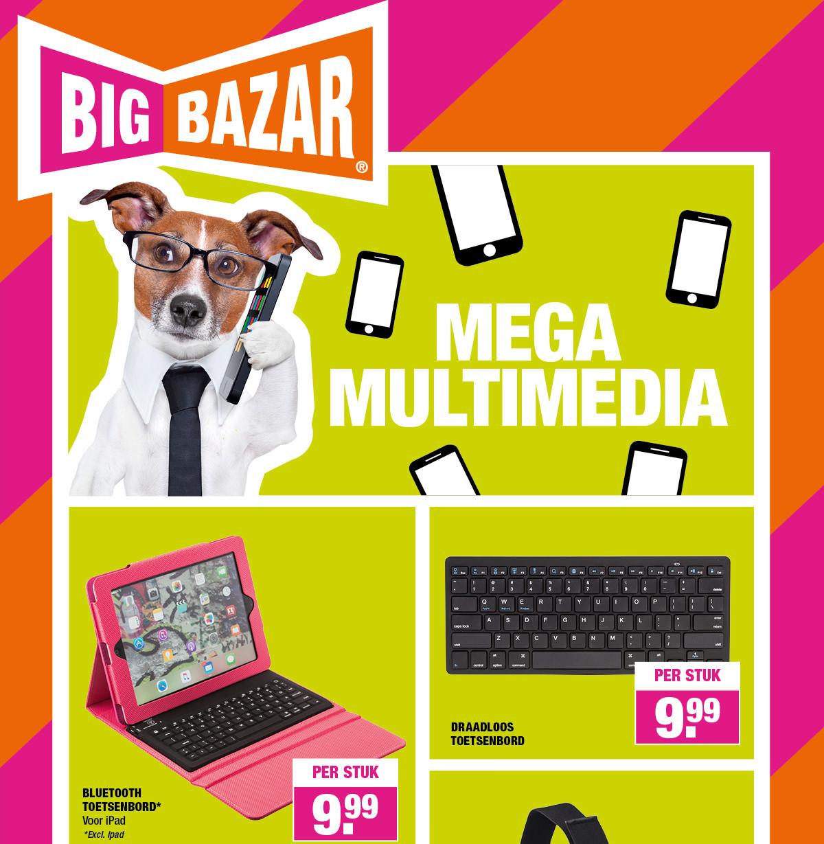 Mega Multi Media deals @ Big Bazar