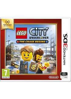 LEGO City: Undercover - The Chase Begins (3DS) voor €12,86 @ Base