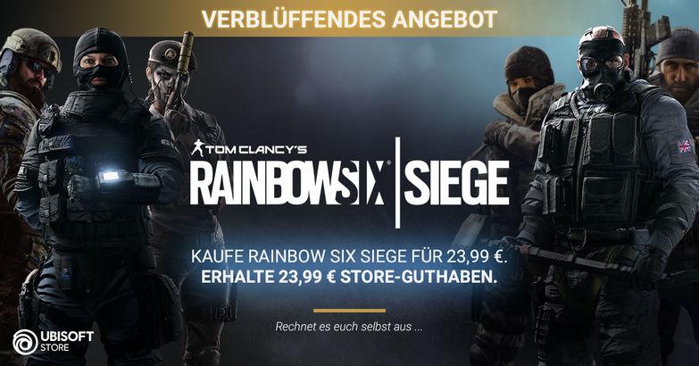 Rainbow Six Siege gratis (terug in tegoed) voor pc, xbox one en Playstation 4