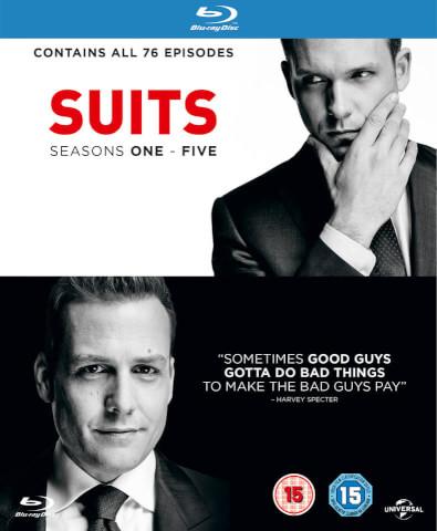 Suits (Serie) Seizoen 1 - 5 @Zavvi voor €24,65
