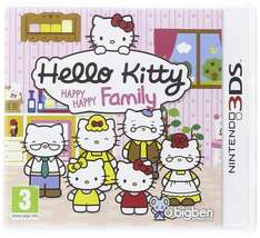 Hello Kitty: Happy Family 3DS game €7,50 (incl) @ Coolshop