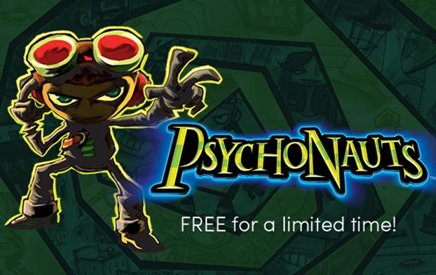 PSYCHONAUTS (Steam) gratis @ Humblebundle