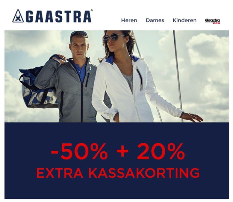[UPDATE] Alle sale 60% korting @ Gaastra