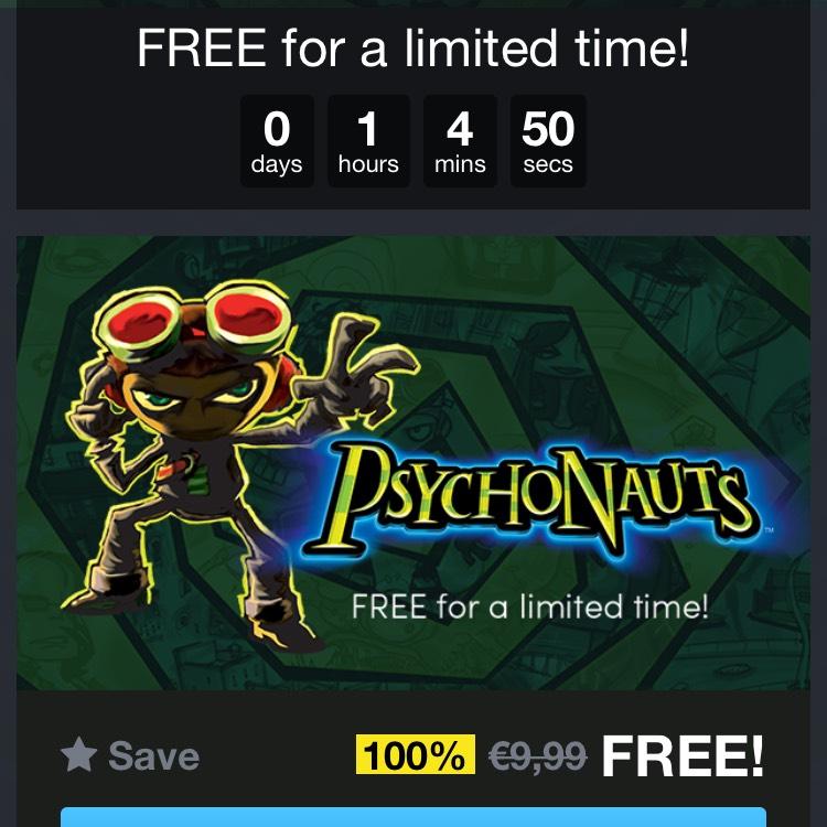 Psychonauts gratis (steam)