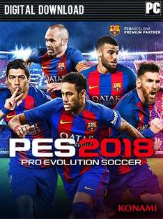 Pro Evolution Soccer (PES) 2018 (PC) voor €21,80 @ CDKeys