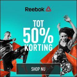 Sale met tot 50% korting @ Reebok