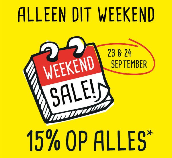 Weekend Sale: 15% korting op bijna alles @ Xenos