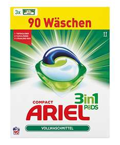 Ariel 3 in 1 pods wasmiddel voor €14,99 @ Amazon.de