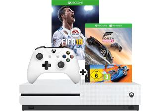 Xbox One S + Fifa 18 + Forza Horizon 3 + Hotwheels + 1 Free Pizza coupon (new york pizza) @ Mediamarkt