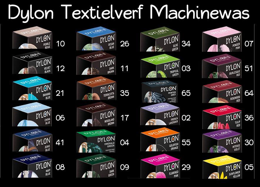 (Oude verpakking) dylon textielverf voor 4,94 @ Drogistplein