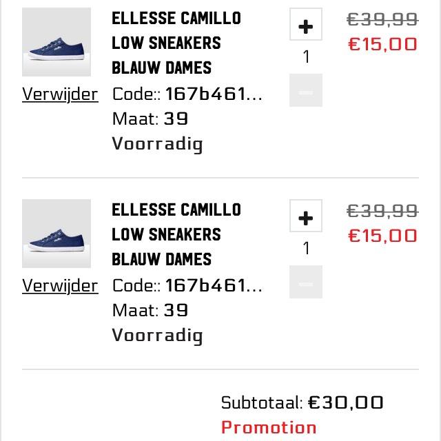 Geselecteerde schoenen 1+1 gratis + 15% extra korting! @ Aktiesport
