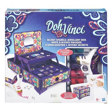 Play-Doh DohVinci juwelenbox voor €19,17 @ Intertoys