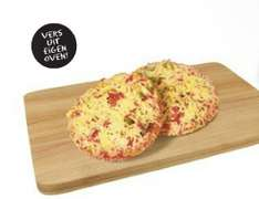 2 verse mini pizza's voor € 1 @ Jan Linders