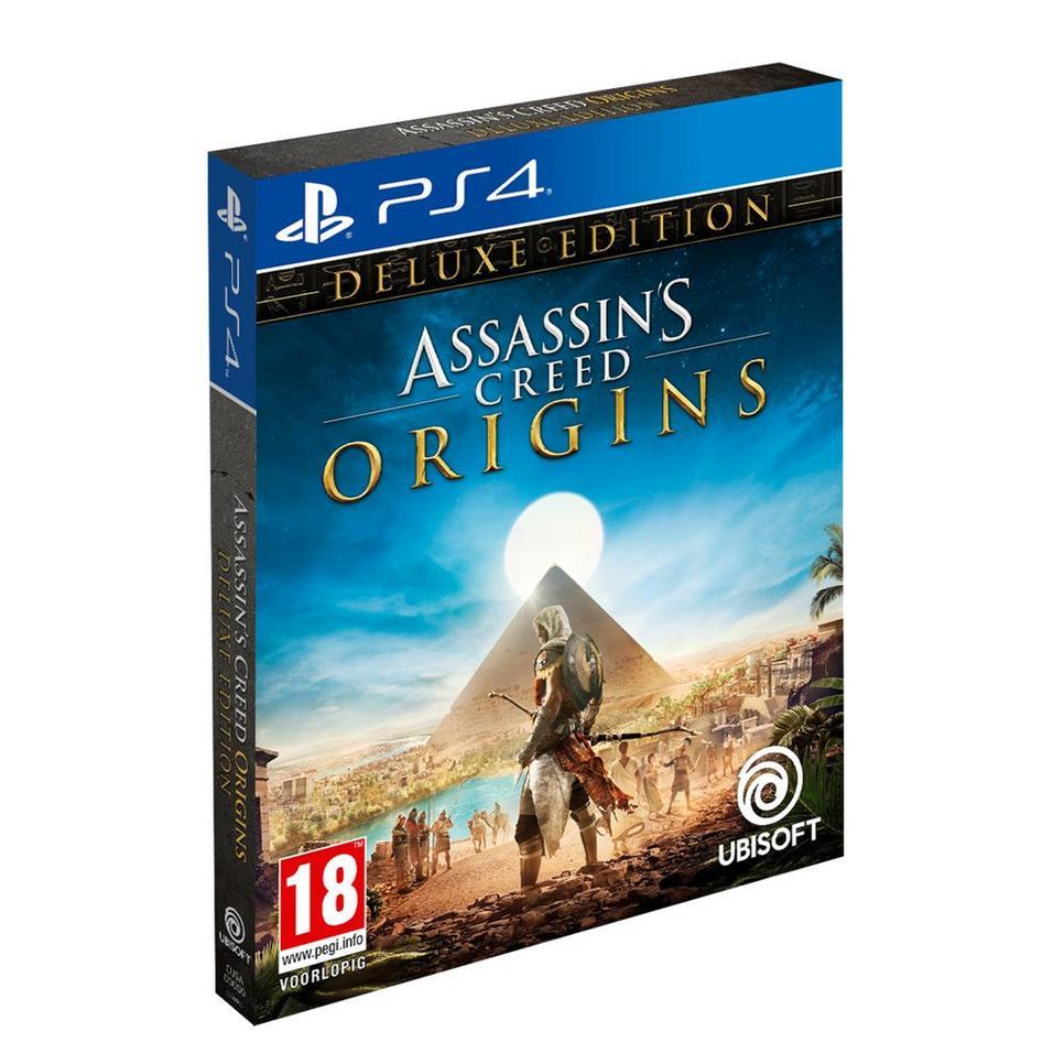 Assassin's Creed: Origins - Deluxe Edition (PS4/One) voor €50 @ Wehkamp