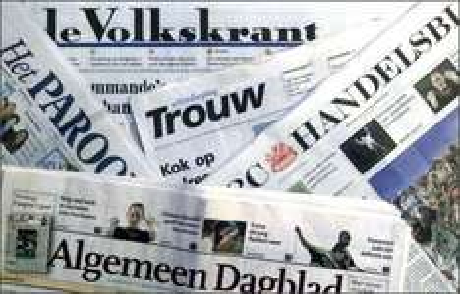 3 weken gratis de Volkskrant, AD, Trouw of Het Parool