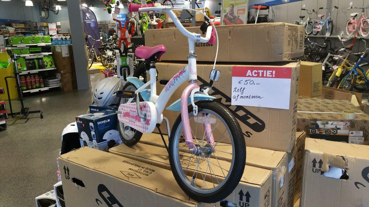 Limit kinderfiets Picnic 16 inch voor €50,- @ Halfords Leeuwarden