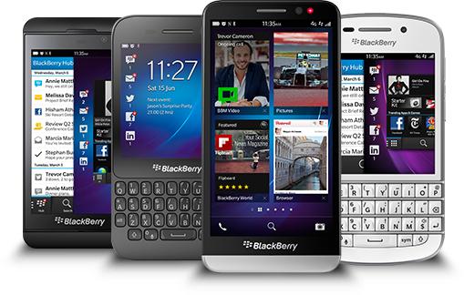 Koop BlackBerry telefoons heel goedkoop door cashbackactie @ Belsimpel