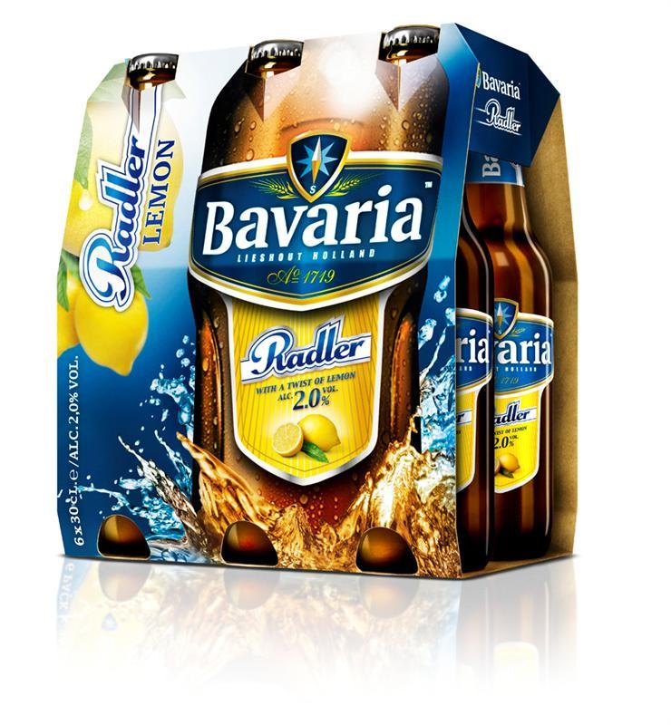 Bavaria Pils, Radler of Alcoholvrij bier 6-pack voor € 1,78 @ Plus