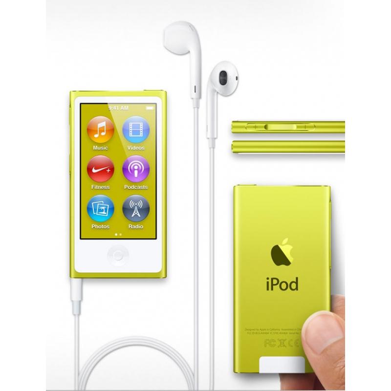 PRIJSFOUT?: Apple iPod Nano V7 16GB (geel) voor €98,17 @ Companic