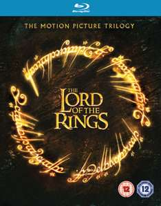The Lord of the Rings Trilogie - Theatrical Edition (Blu-ray) voor € 7,75 @ Zavvi