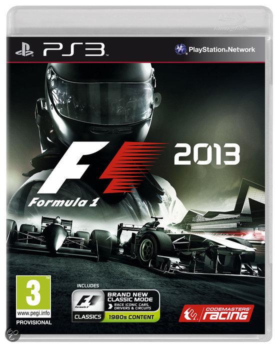 F1 2013 (PS3 / Xbox 360) voor € 19,35 @ Zavvi